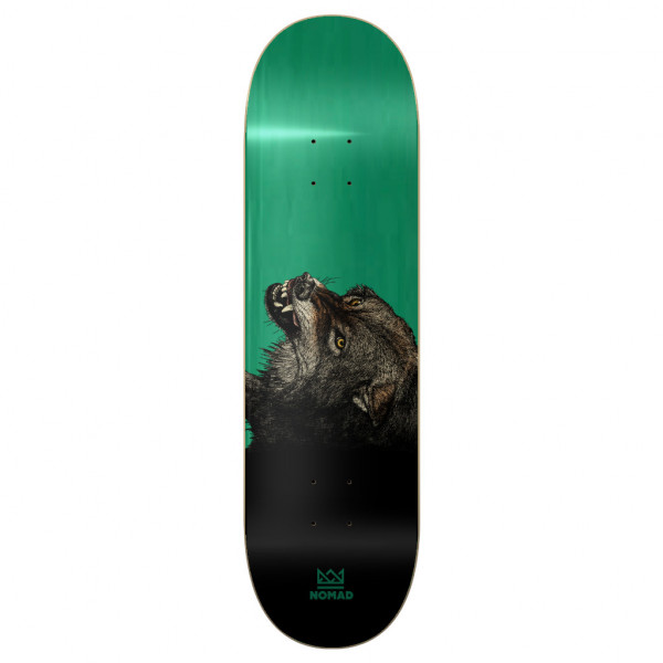 Nomad Wolf Forest Green Deck - 8.5