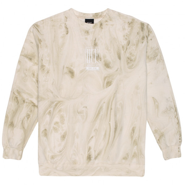 HUF Elias Pullover unbleached