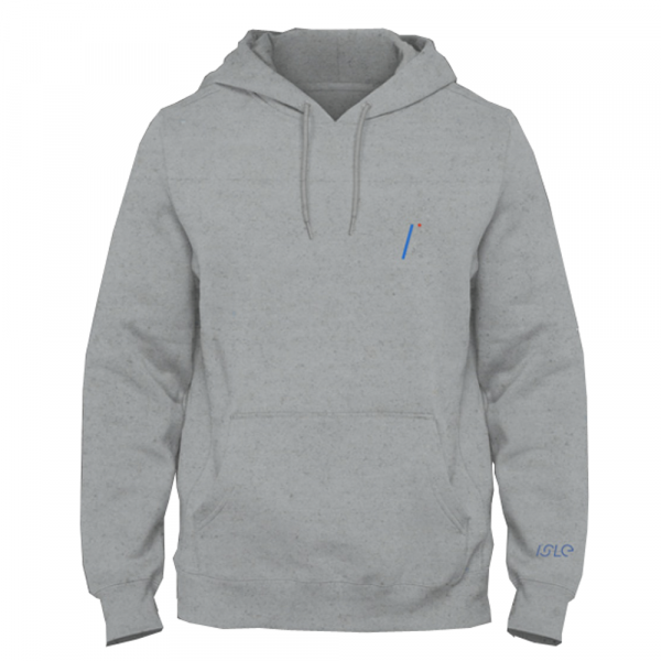 Isle Skateboards Hooded Sweatshirt I Logo - gunmetal heather
