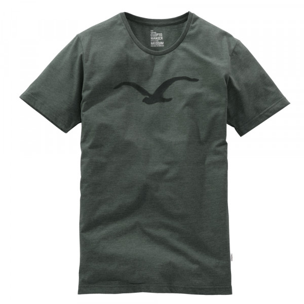 Cleptomanicx T-Shirt Pastell Möwe - heather dark olive