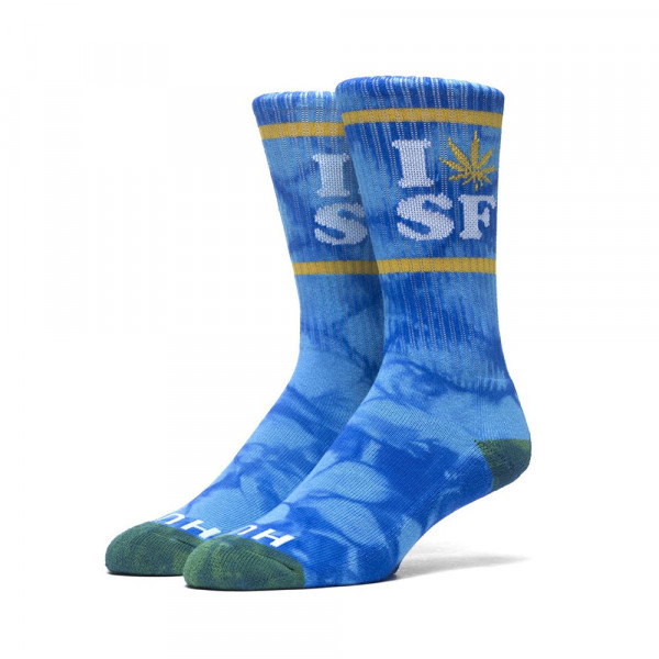 HUF Socken Legalize SF - royal gold