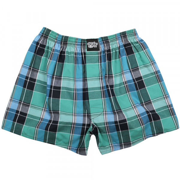 Lousy Livin Boxershorts Lousy Check - spruce green