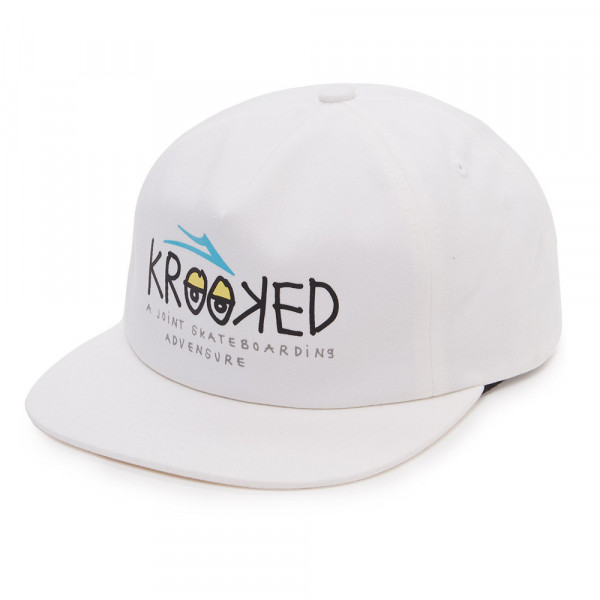 Lakai Cap Krooked Relaxed Fit - white