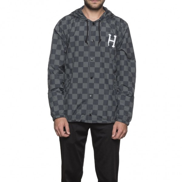 HUF Blackout Coach Jacke - black