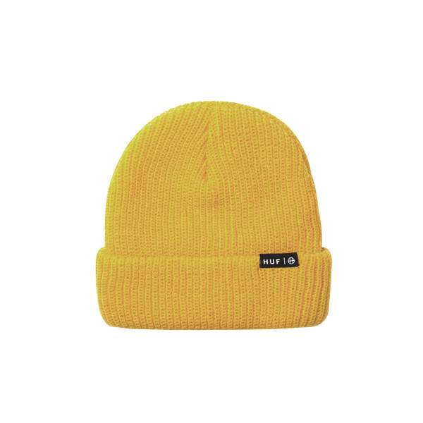 HUF Beanie Usual - mineral yellow