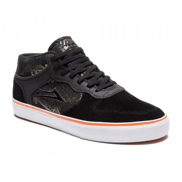 Lakai x Thrasher Schuhe Carroll Mid - black orange suede