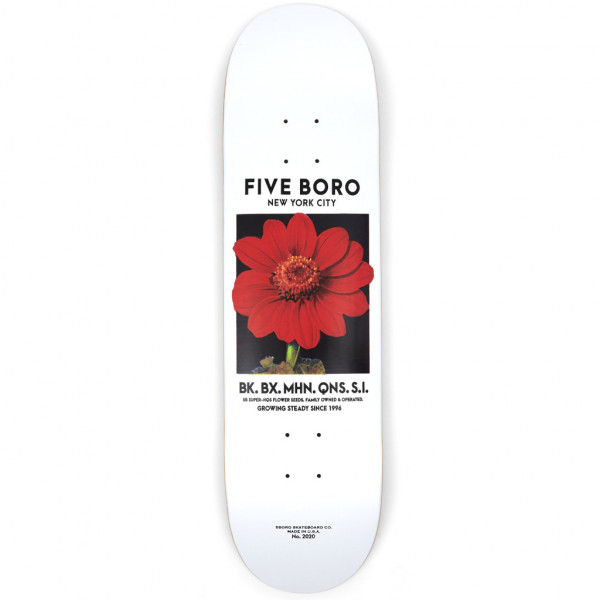 5boro Flower Seed Red Deck - 8.0