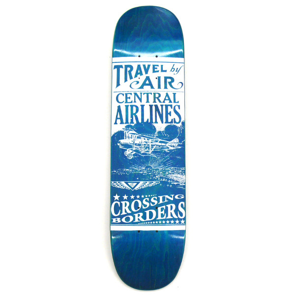 Central Skateboards Deck Travel by Air (Mini) 7.0