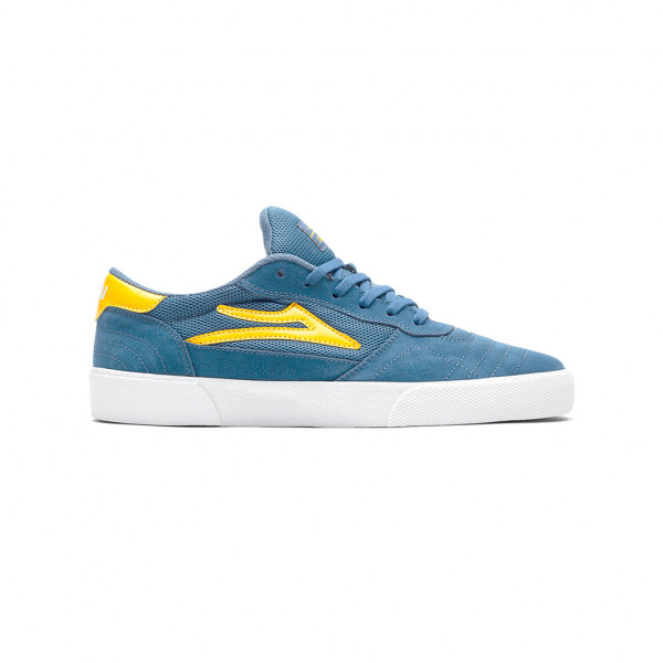 Lakai Cambridge Schuhe slate/yellow suede