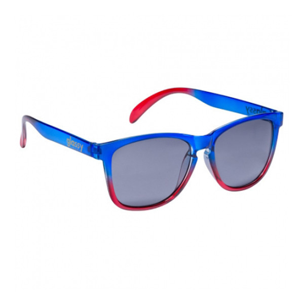 Glassy Sunhaters Sonnenbrille Deric - clear blue clear red