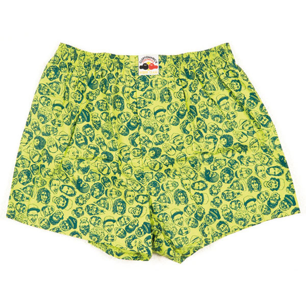 Lousy Livin Boxershorts Germany People - green