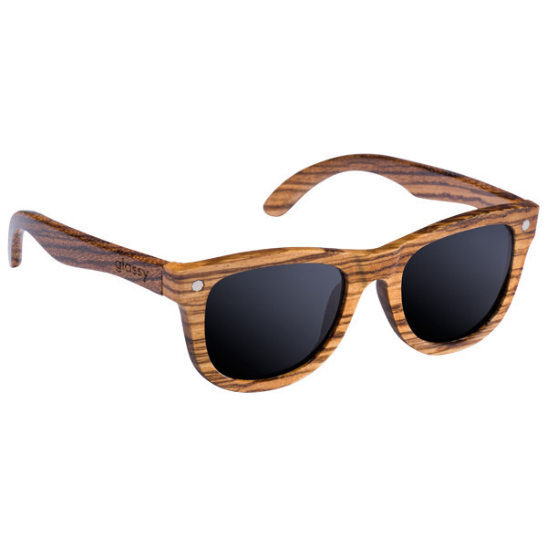 Glassy Sunhaters Sonnenbrille Marc Johnson - wood