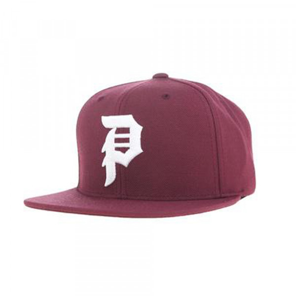 Primitive Snapback Dirty 6 Panel - burgundy