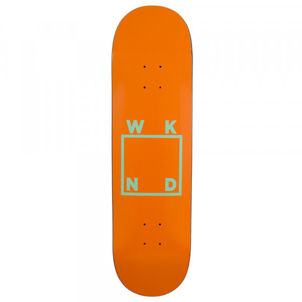 Deck Logo Orange - 8.0