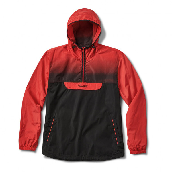 Primitive Jacke Anorak Taped - electric red
