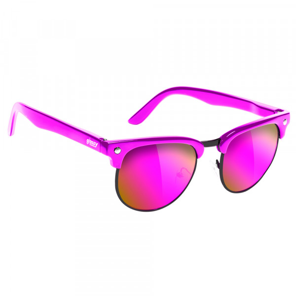 Glassy Sunhaters Sonnenbrille Morrison Cancer Hater - pink pink mirror