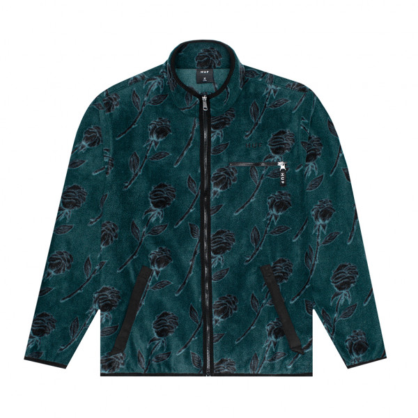 HUF Jacke Farewell - dark forest