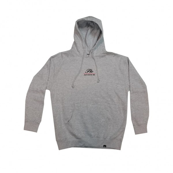 FTC Hoodie Script Embroidered - atheltic heather
