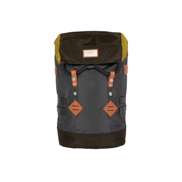 Doughnut Colorado Small Glossy Series Rucksack - charcoal x olive