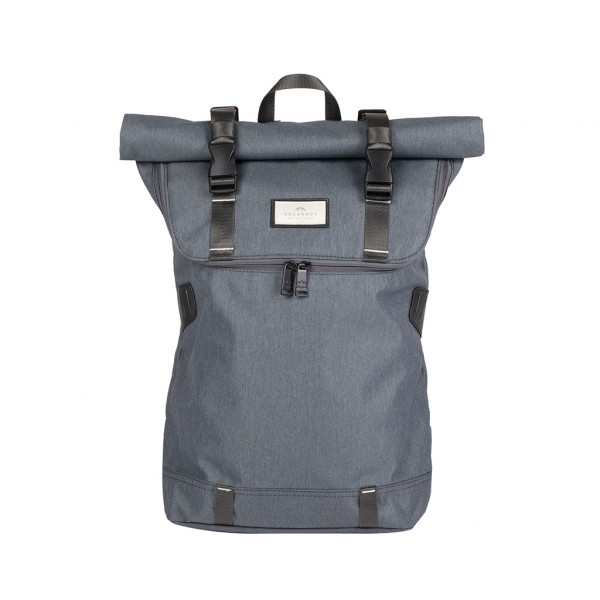 Doughnut Christopher Nylon Accents Series Rucksack - charcoal x white