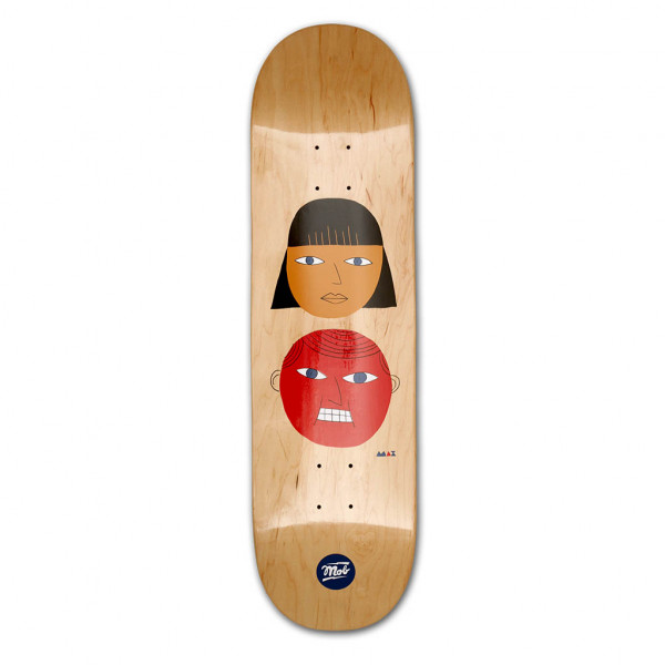 MOB Skateboards Two Heads Deck 8.5