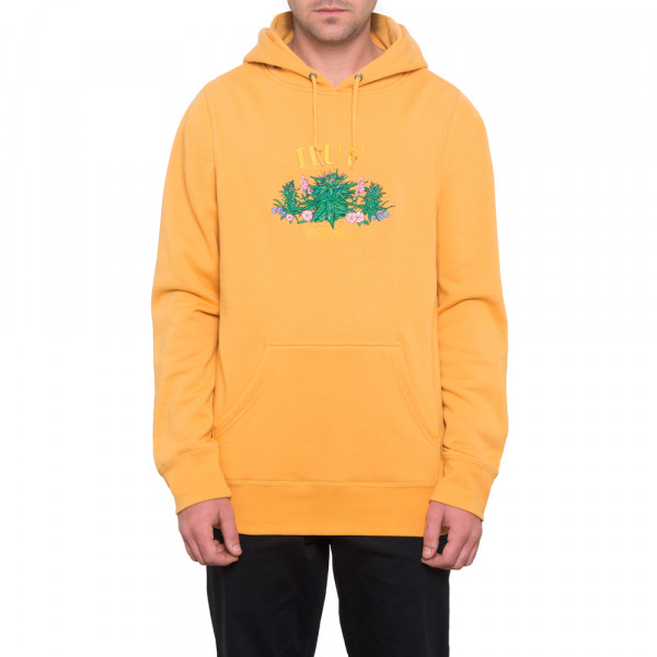 HUF Hoodie Wild Flowers - mineral yellow