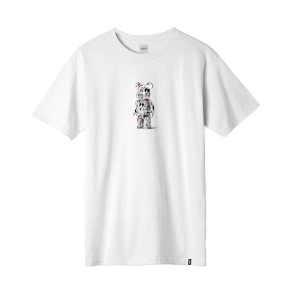 HUF Phil Frost x Bearbrick T-Shirt - white