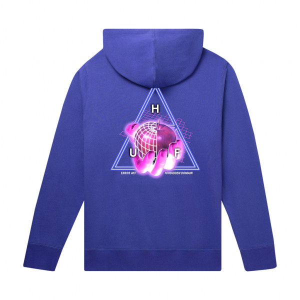 HUF Forbidden Domain Hoodie olympian blue