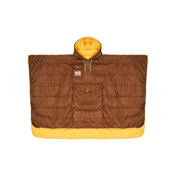 Poler The Poncho - gold chocolate