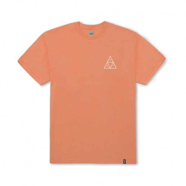 HUF T-Shirt Essentials Triple Triangle - canyon sunset