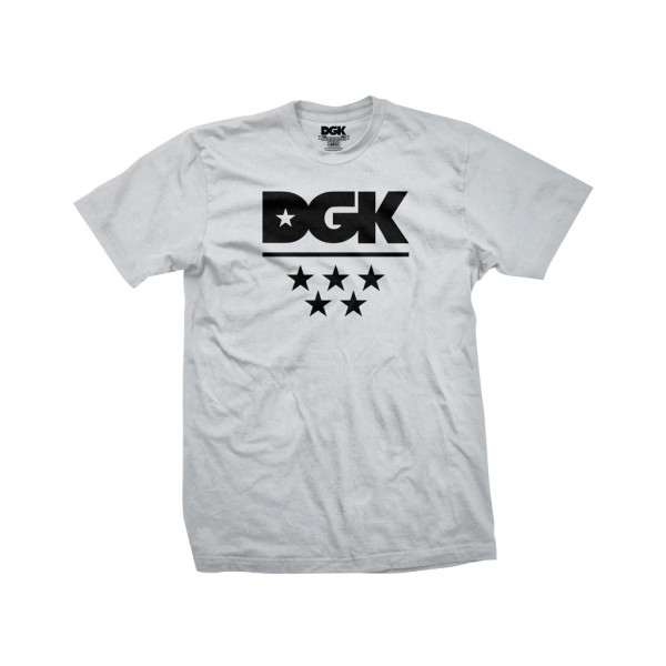 DGK T-Shirt All Star - silver